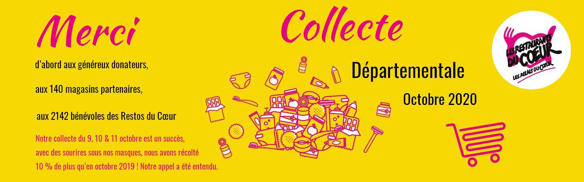 Collecte Départementale Octobre 2020